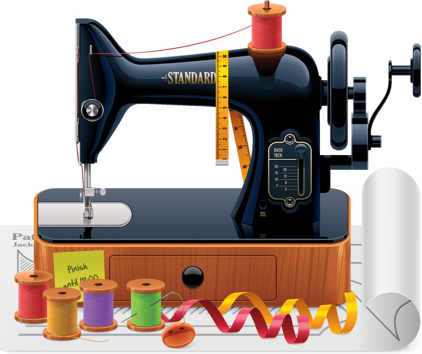 картинки для швейной машинки рынок
